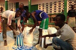 世界粮食计划署计划为中非共和国125万人提供粮食,需近1.07亿美元