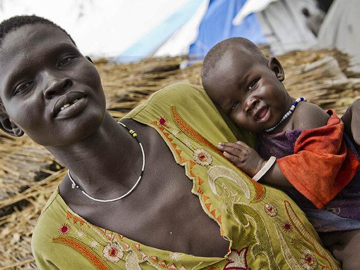 母亲和孩子