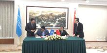 世界粮食计划署和中国建立伙伴关系进行应急管理合作